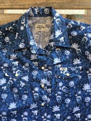 Camicia donna flowers