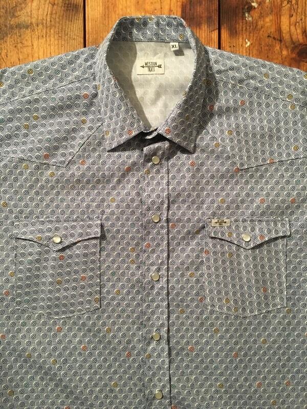 Camicia uomo-CIRCLE FABRIC
