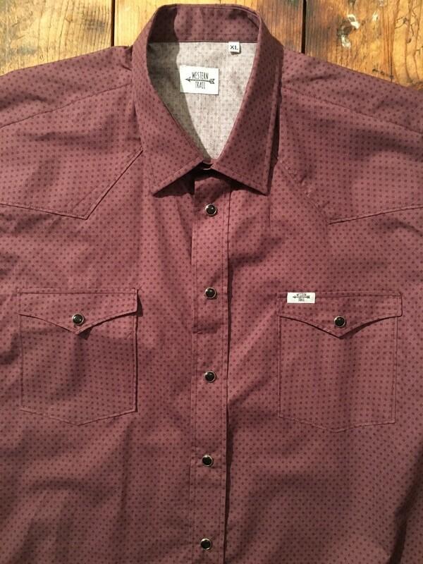 Camicia uomo-RED GEO