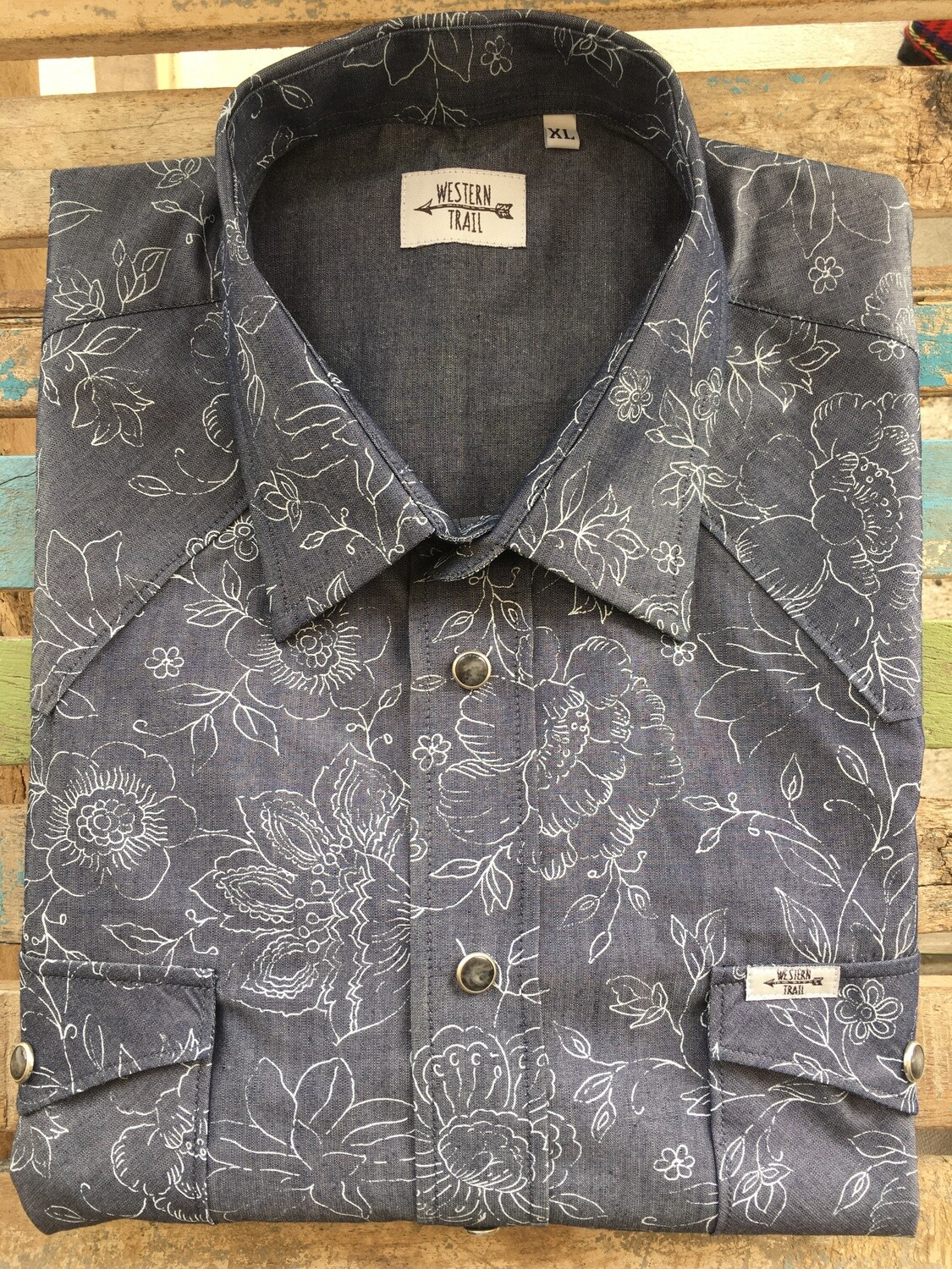 Camicia uomo-IRON FLOWER