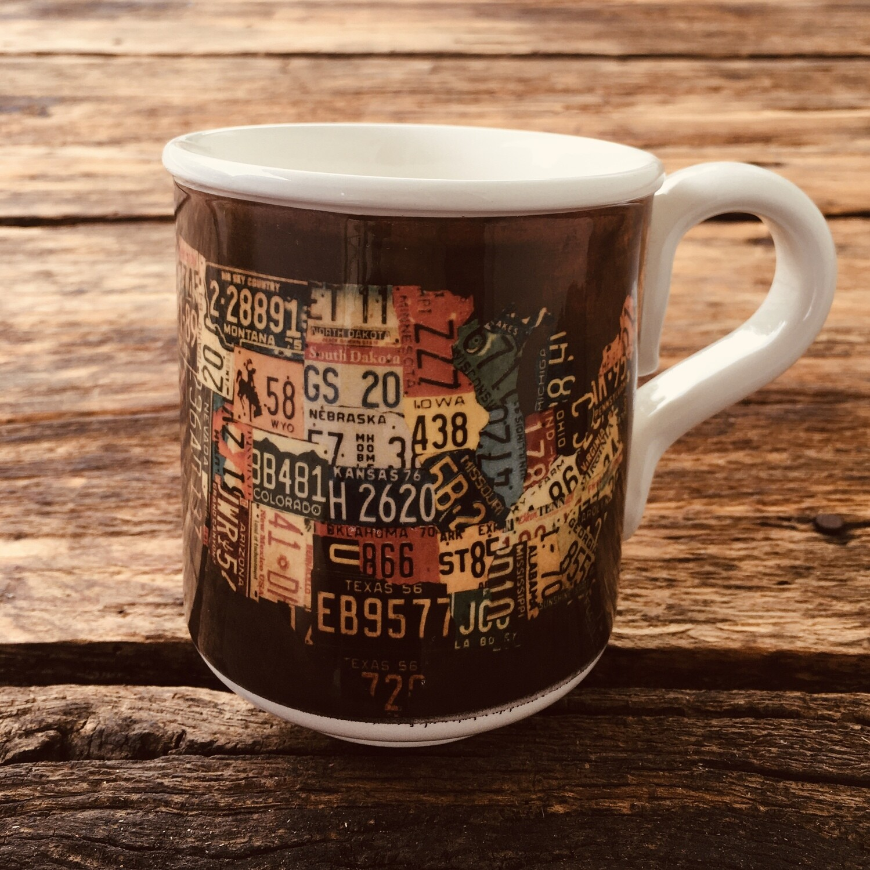 Mug US license