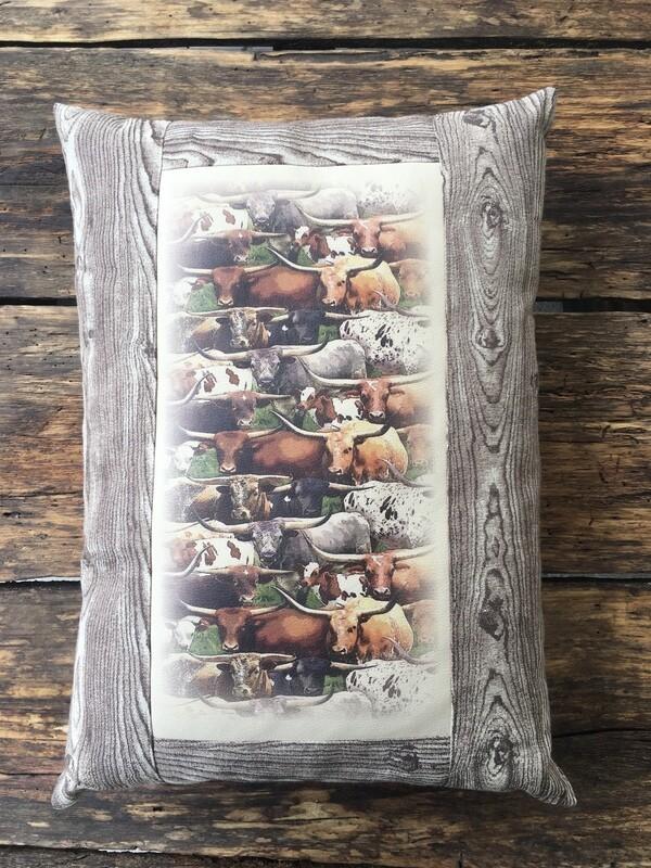 Pillow-Longhorns