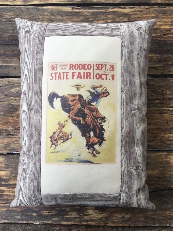 Pillow-Rodeo Fair