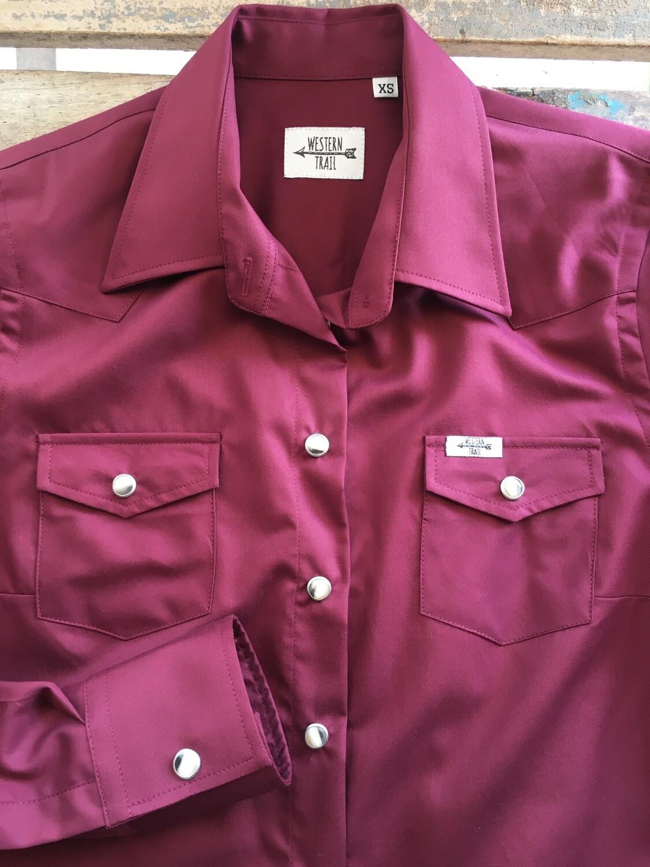 Camicia donna-Cherry