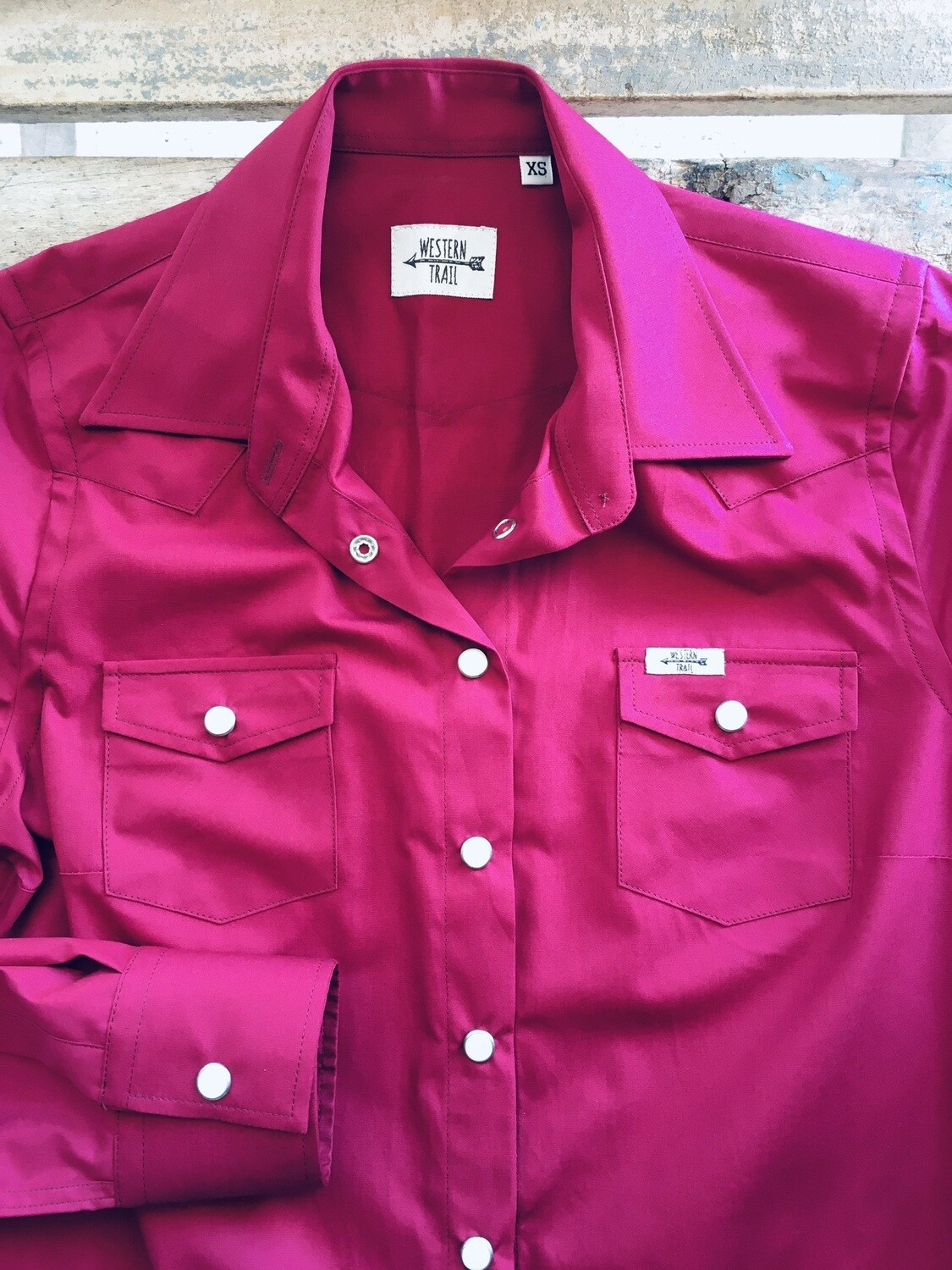 Camicia donna-Pink Rose