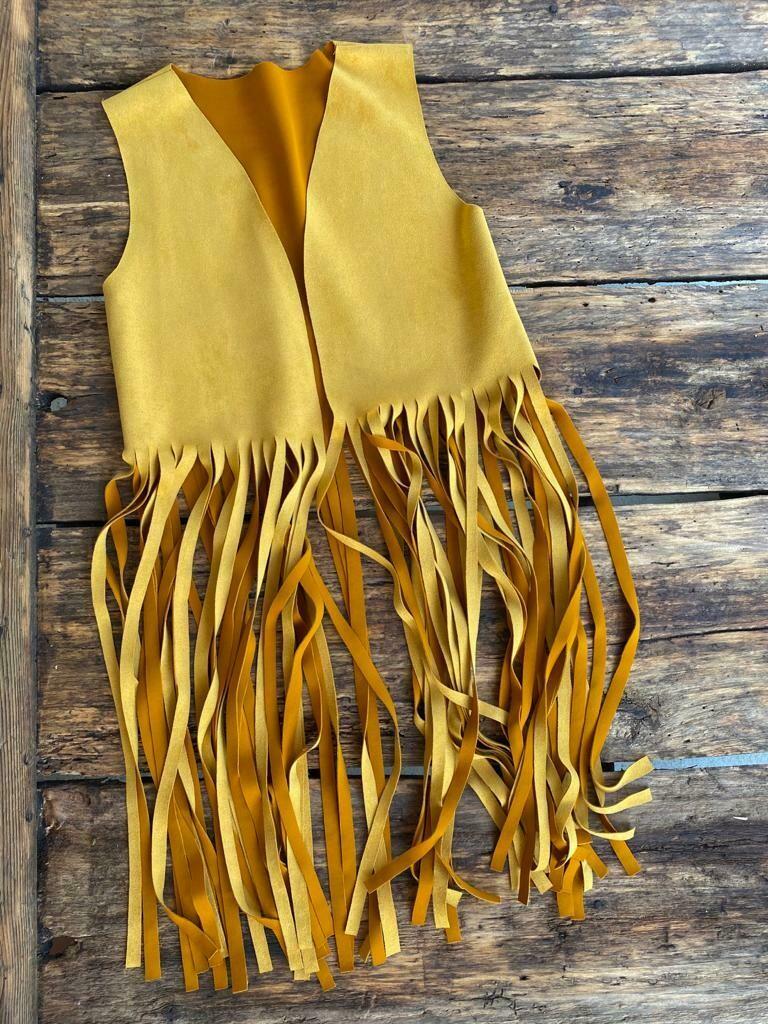 Vest-Yellow Fringe
