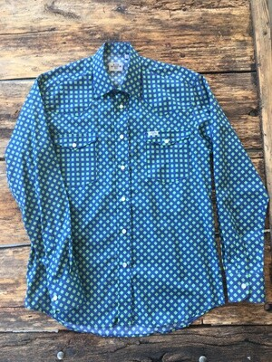 Camicia uomo-GREEN FLOWER