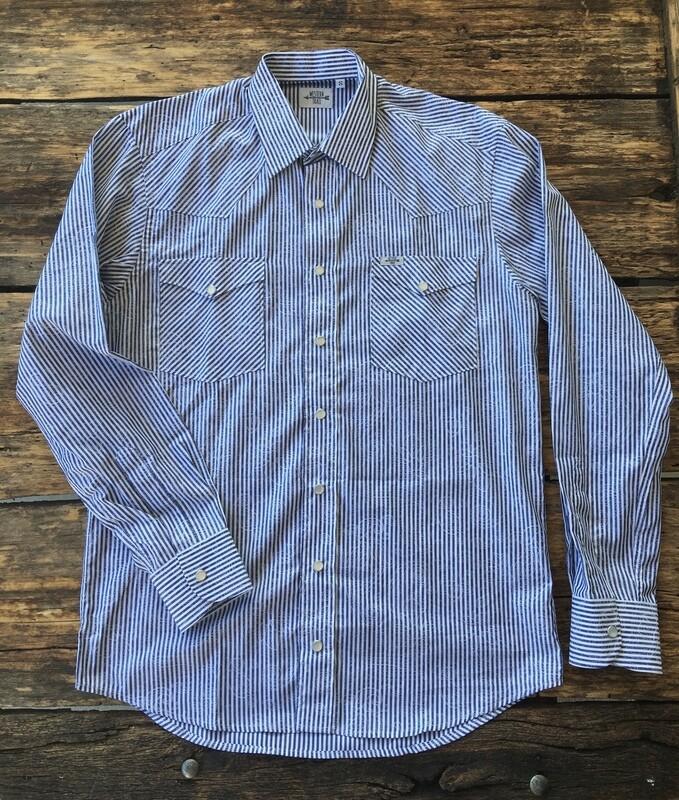 Camicia uomo-JACQUARD STRIPES