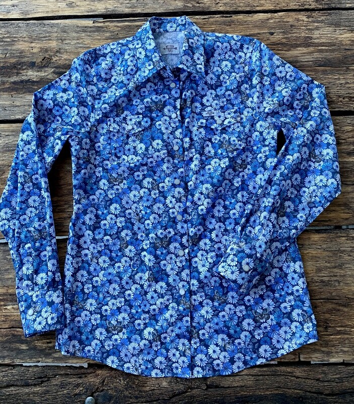 Camicia donna flower&butterfly