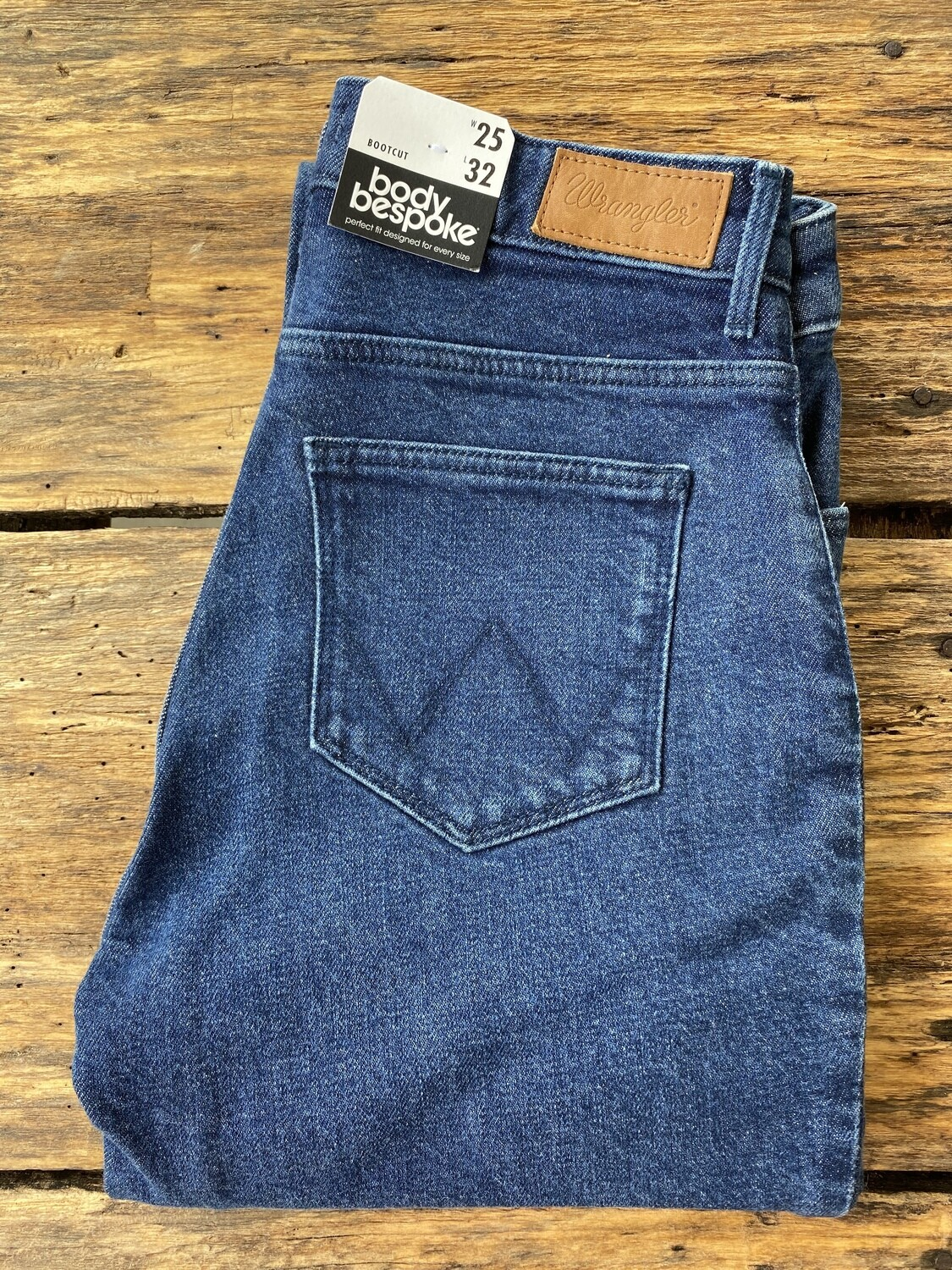 Bootcut stretch-Dark blue