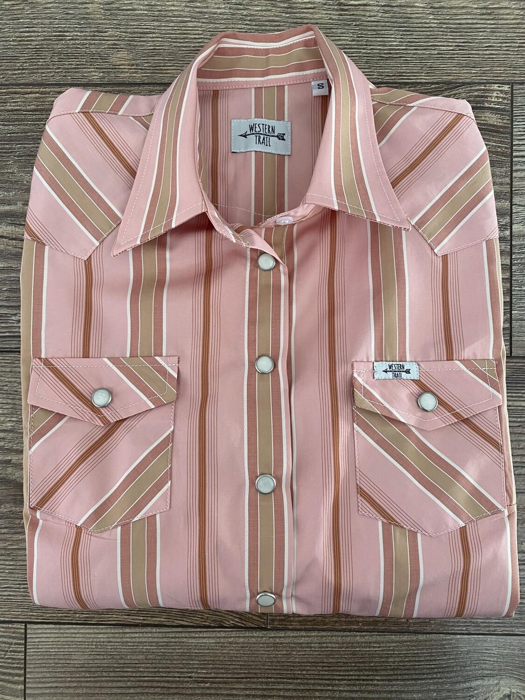 Light Pink & Stripes