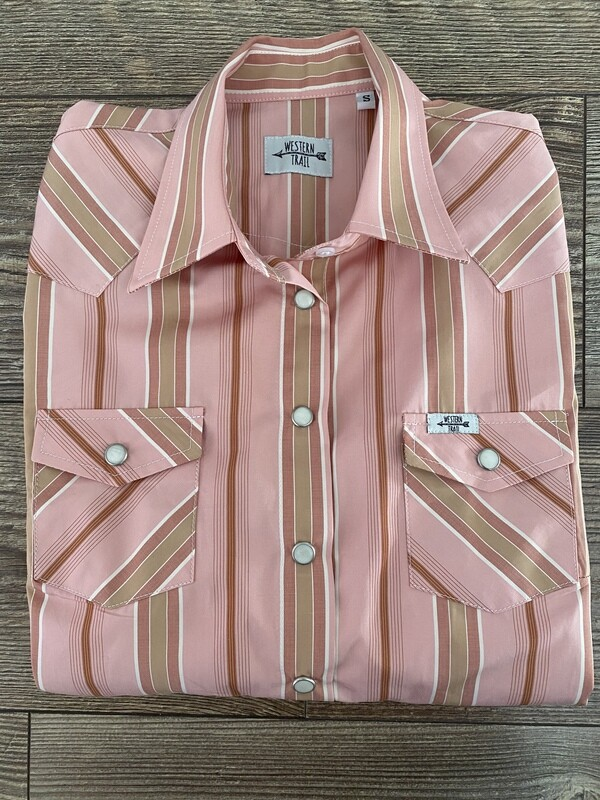 Light Pink & Stripes