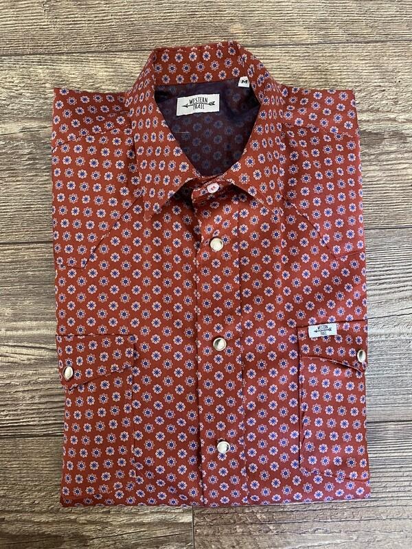 Camicia uomo Geometric Star