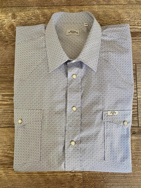 Camicia uomo-Square Point geometric