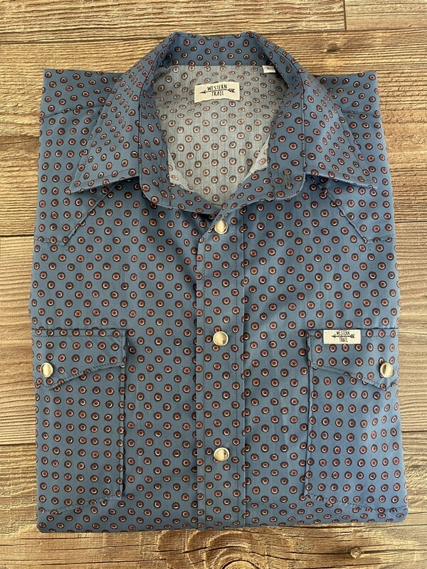 Camicia uomo-Red dot