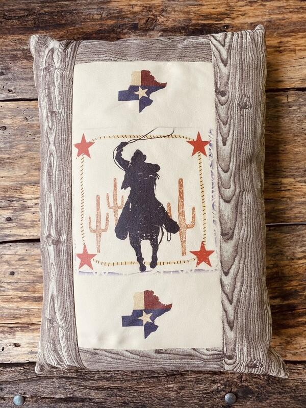 Pillow-Western Cowboy