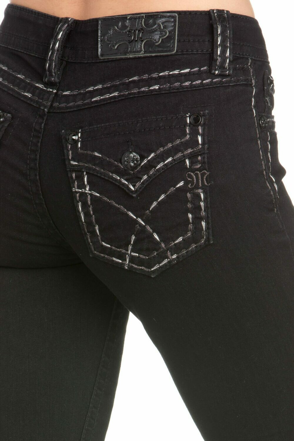 ON YOUR MARK BOOTCUT JEANS