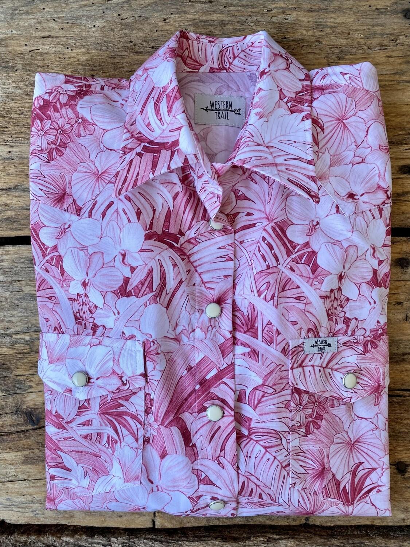 Camicia donna western Pink field