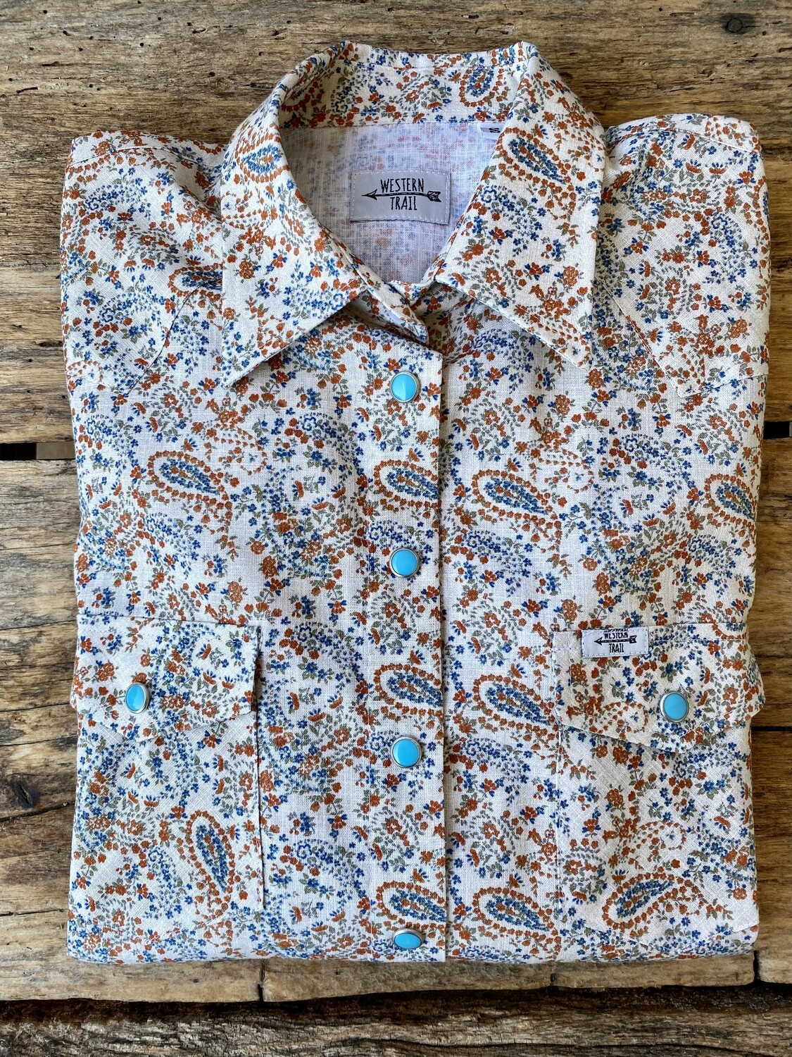Camicia donna western Old country