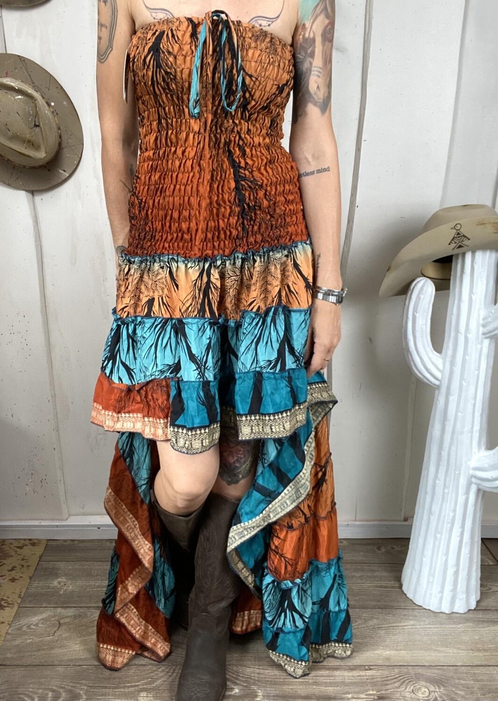 Abito in seta Dolly safari