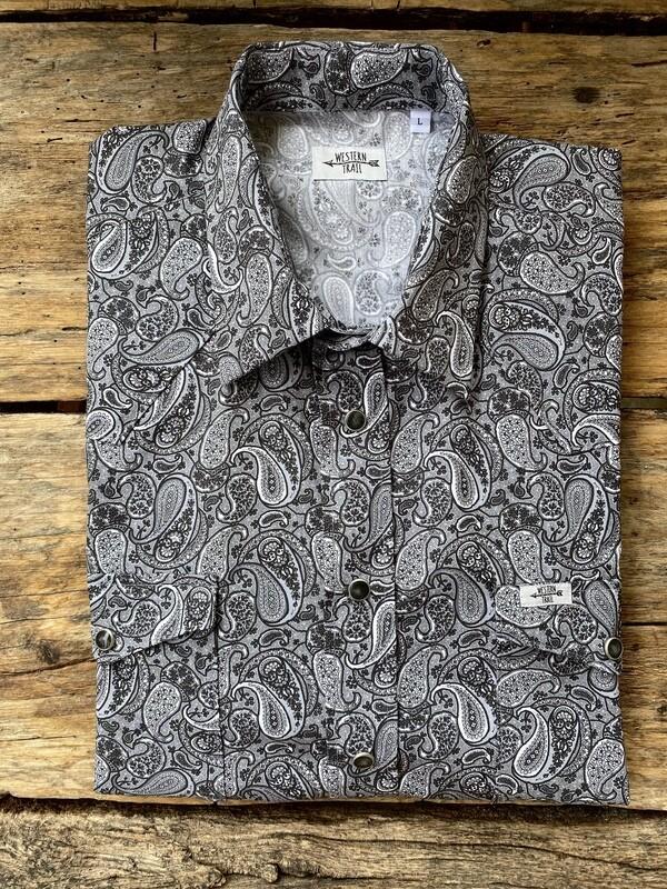 Camicia uomo - Jacquard black