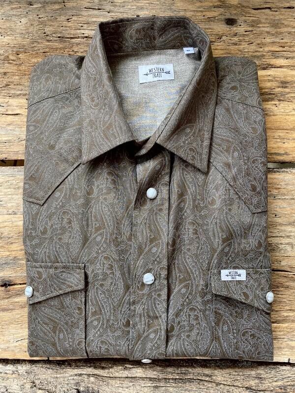 Camicia uomo - Jacquard green