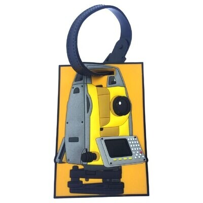 """Luggage Tag """"Total Station"""""""