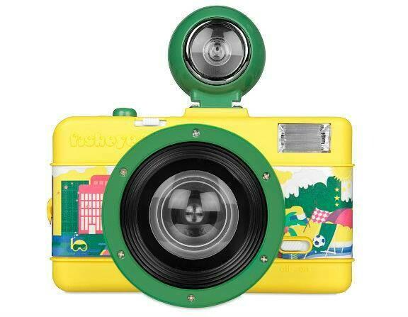 Fisheye No.2 35 mm Camera Brazilian Summer Edition