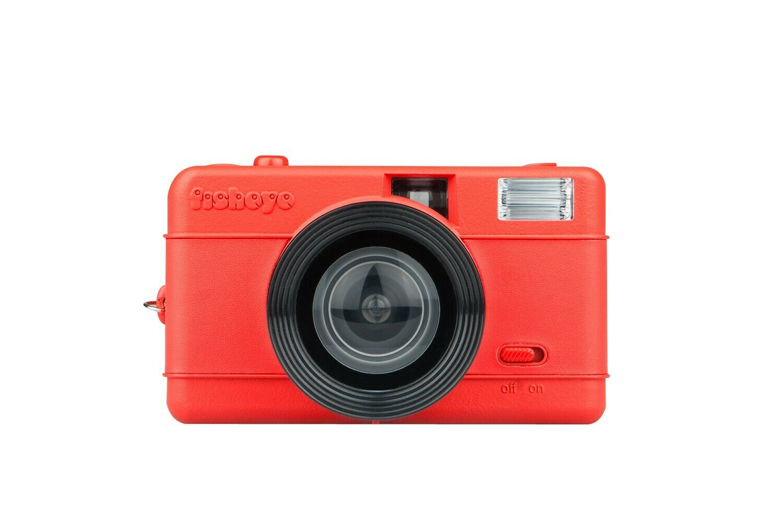 Fisheye One Red 35 mm Camera
