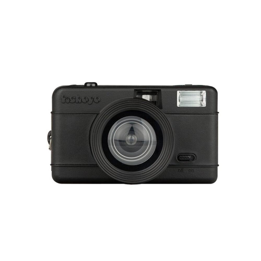 Fisheye One Black 35 mm Camera