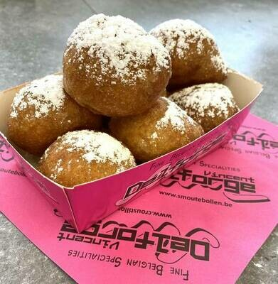 The only one mix recipe for Vincent DELFORGE oliebollen / hot Belgian donuts.