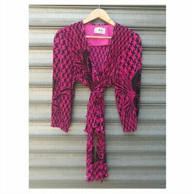 80s Houndstooth Matching Set