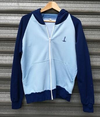 80's Sporty Hoodie Jacket