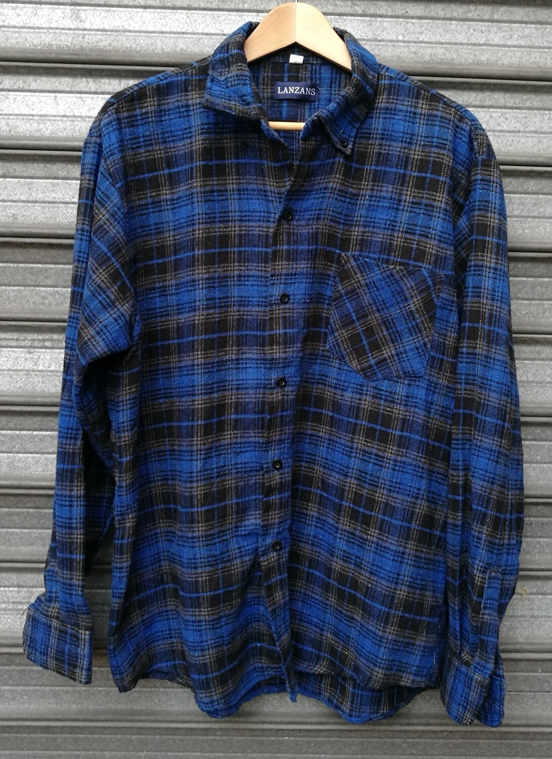 90's Flannel Plaid Shirt
