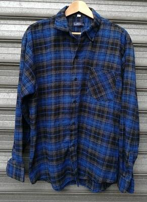 90's Flannel Plaid Shirt