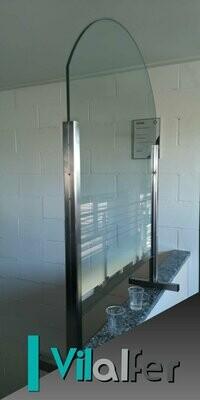 Divisorio Da Tavolo o Bancone in vetro
