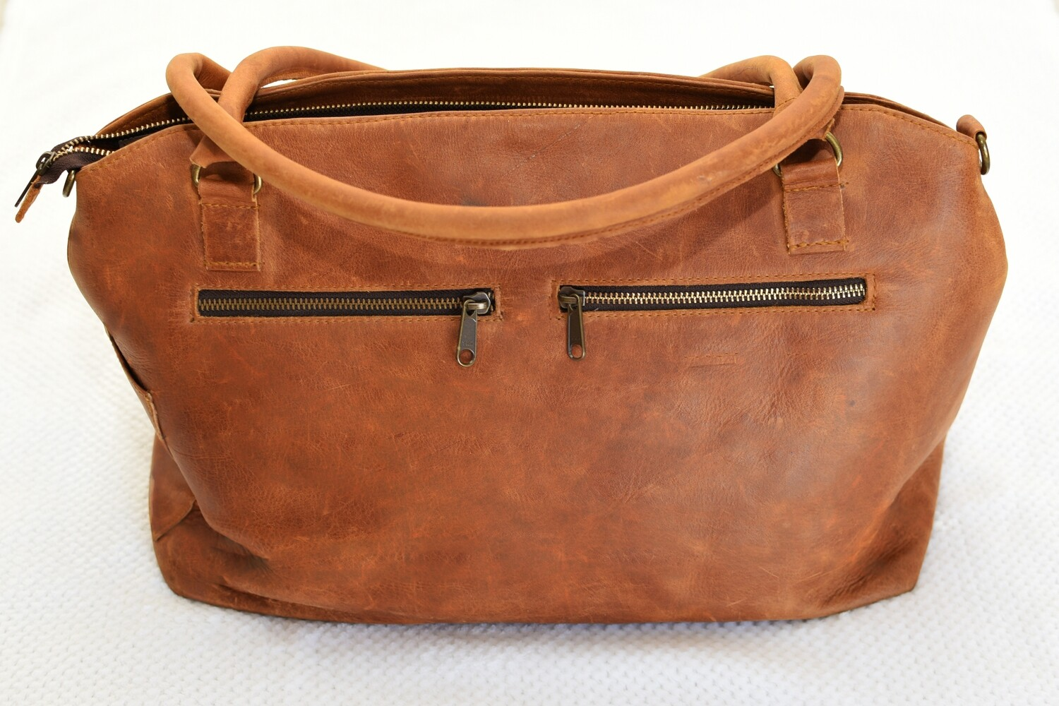 Grace Genuine Leather Diaper Bag