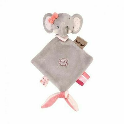Adele the Elephant Mini Doudou Blanket