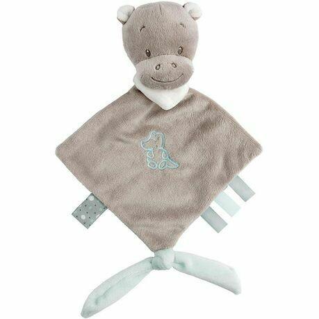 Hippo Hippolyte Mini Doudou Blanket