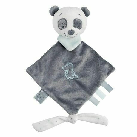 Snow Panda Loulou Mini Doudou Blanket