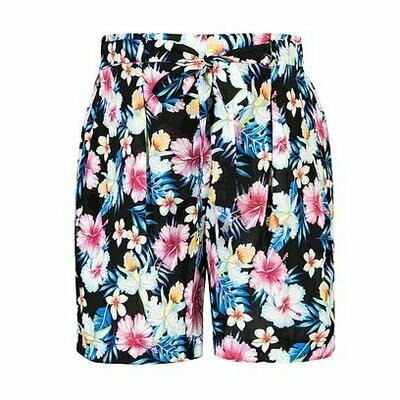 Summer Floral Print Maternity Shorts