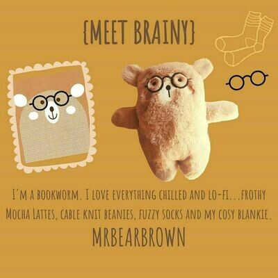 MrBearBrown in Gift Box - BRAINY