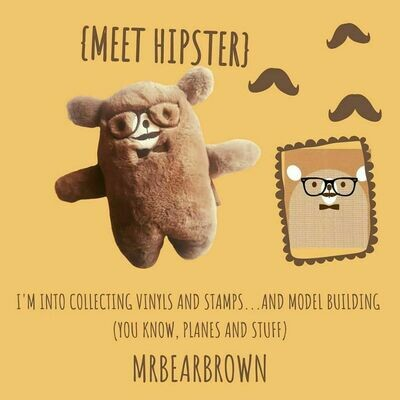 MrBearBrown in Gift Box - HIPSTER