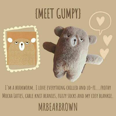 MrBearBrown in Gift Box - GUMPY