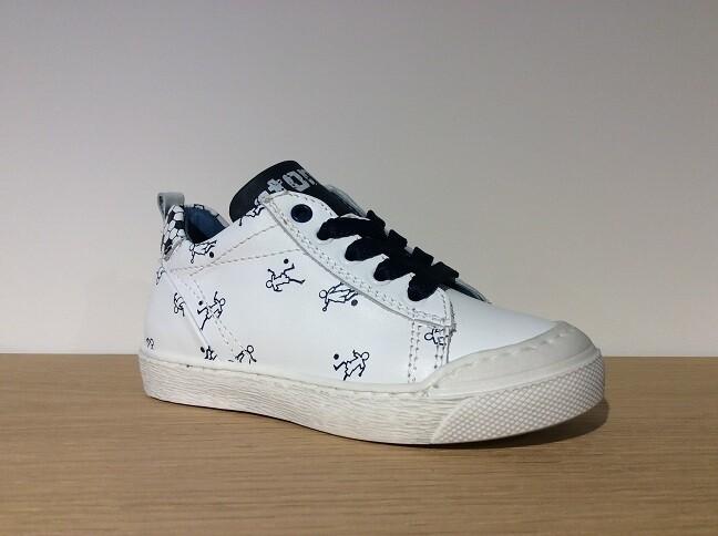 Genio white+navy