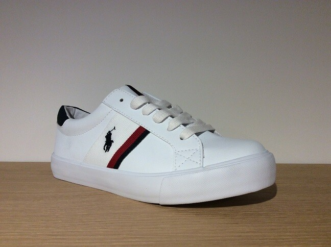 Ralph Lauren jongensschoenen Gaffney white