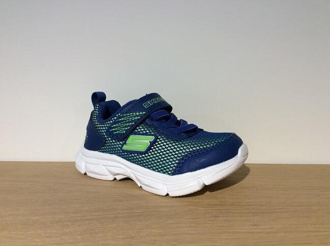 Skechers jongensschoenen vrije tijd Advance blue