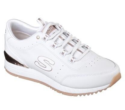 Skechers meisjesschoenen vrije tijd Sunlite white