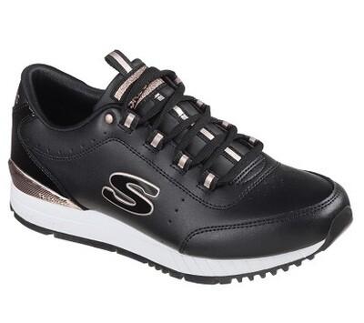 Skechers meisjesschoenen black