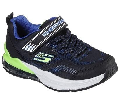 Skechers jongensschoenen vrije tijd black/blue on air